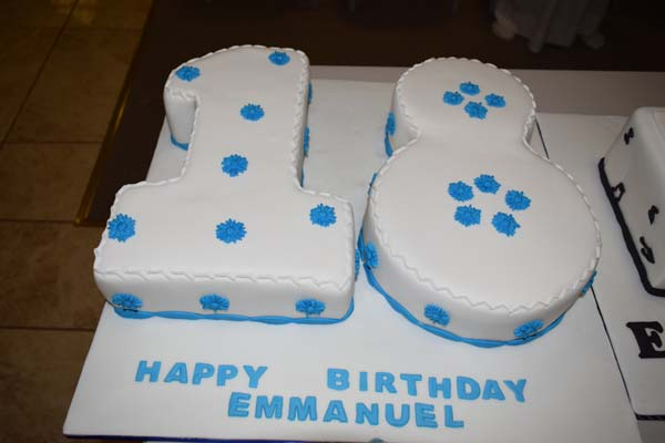 Emmanuel Bareck's 18th Year Birthday